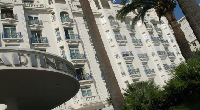 Where to stay in Cannes. The Hotel Martinez provides a luxury choice
